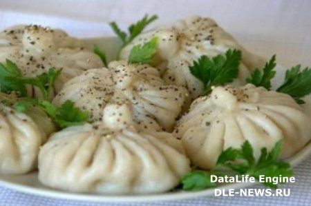 Готовим хинкали. Блюдо грузинской кухни, видео урок (2012)