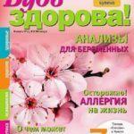 Журнал Будь здорова! (12 выпусков) 2012-2015