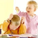 Агрессивность у детей раннего возраста