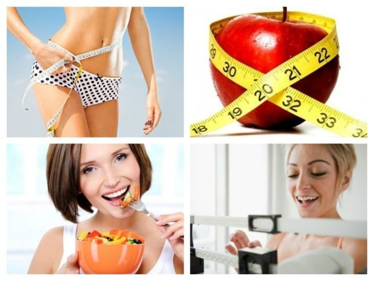Как похудеть за неделю
