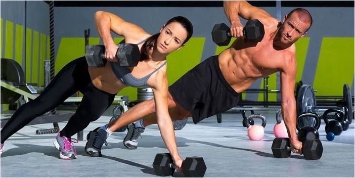 Примеры упражнений кроссфита