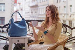 Женские сумки и платья