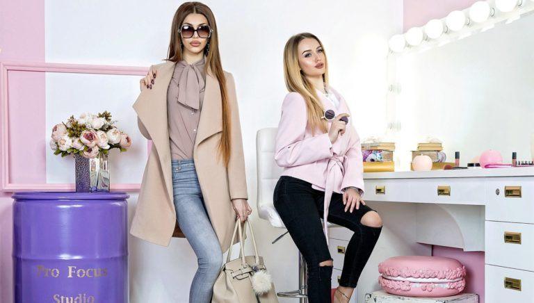 Выбор модной женской одежды