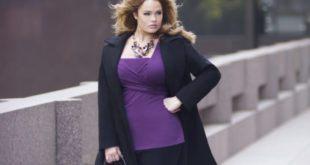 Выбираем пальто больших размеров для женщин